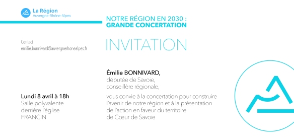 Invitation Francin 08.04